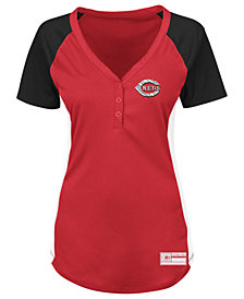 Majestic Women's Cincinnati Reds League Diva T-Shirt