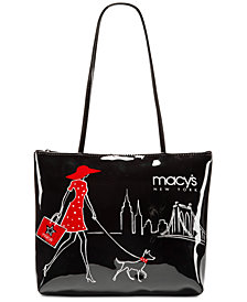 Macy S Walking Dog Small Tote Created For