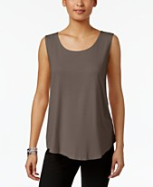 53419feaf8108 JM Collection Scoop Neck Tank Top