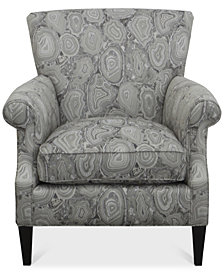 Dial II Printed Accent Chair
