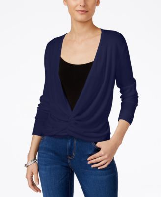 Image of Style & Co Petite 4-in-1 Cardigan, Only at Macy's
