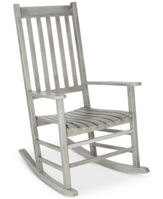 Evaline Outdoor Rocking Chair, Quick Ship