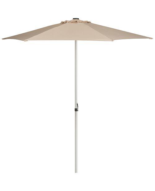 Safavieh Mittson Outdoor 9' Umbrella, Quick Ship