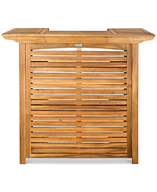 Yarley Outdoor Bar Table, Quick Ship