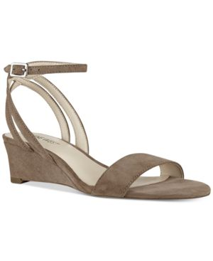 Nine West Lewer Wedge Sandals Women