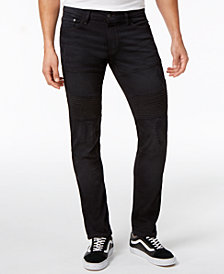 Ring of Fire Men's Slim Fit  Stretch Black Jeans, Created for Macy's
