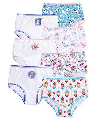 Frozen Disney S 174 Underwear 7 Pack Toddler Girls Underwear Amp Socks Kids Macy S