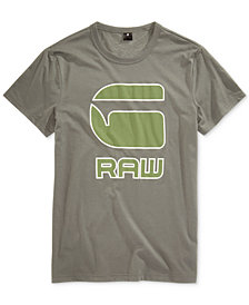 G-Star RAW Men's Cadulor Graphic-Print Cotton T-Shirt
