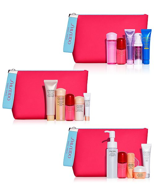 Shiseido Choose your FREE 6-Pc. gift with any $75 Shiseido purchase (A ...