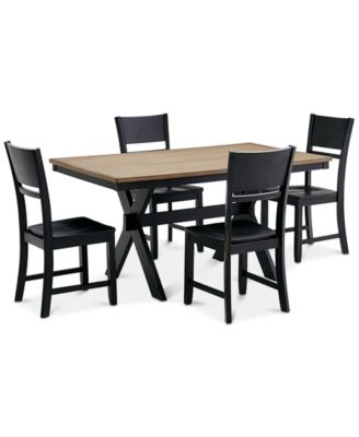 Awesome Archer Dining Furniture, 5 Pc. Set (Dining Table U0026 4 Side Chairs), Created  For Macyu0027s