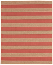 CLOSEOUT! Portico Riviera Stripe Indoor/Outdoor Area Rug Collection