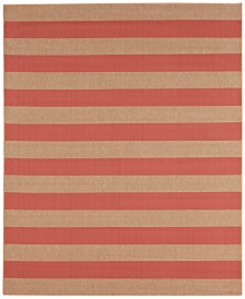 CLOSEOUT! Karastan Portico Riviera Stripe Indoor/Outdoor Area Rug Collection