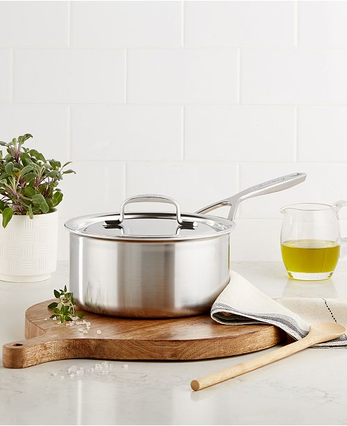 5-Plus Stainless Steel 2-Qt. Saucepan