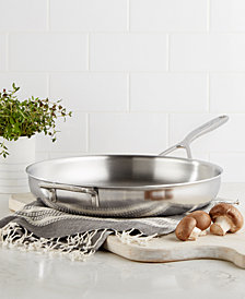 "Demeyere 5-Plus Stainless Steel 12.5"" Fry Pan"