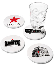 Macy's Set of 4 Coasters, Created for Macy's