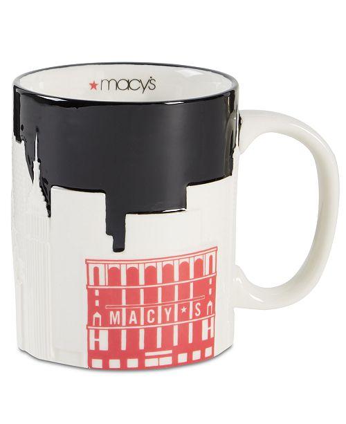 Macy's New York City Skyline Mug, Created For Macy's