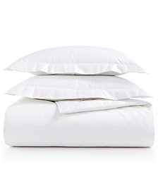 AQ Textiles Bergen Full/Queen 3-Pc Duvet Set, 1000 Thread Count 100% Egyptian Cotton