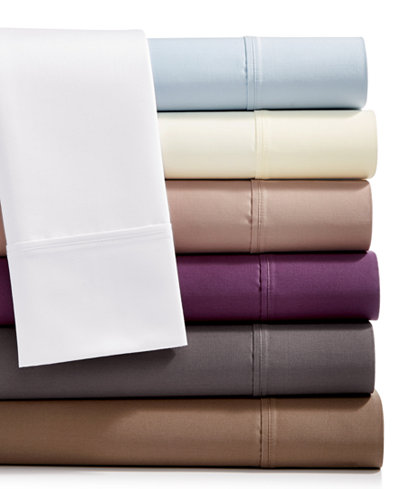 AQ Textiles Bergen 4-Pc. Sheet Sets, 1000 Thread Count 100% Certified Egyptian Cotton