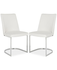Abaza Set of 2 Dining Chairs, Quick Ship