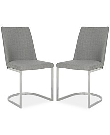 Abaza Set of 2 Dining Chairs