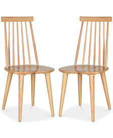 Drydan Set of 2 Dining Chairs, Quick Ship