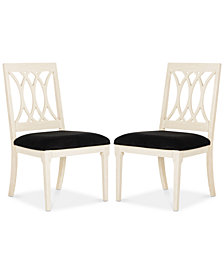 Gitanna Set of 2 Dining Chairs, Quick Ship