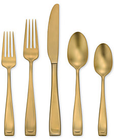 Oneida Moda Lux 45-Pc. Flatware Set, Service for 8