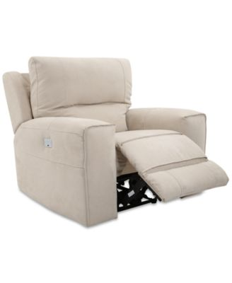 Genella Power Recliner with Power Headrest and USB Power Outlet  sc 1 st  Macyu0027s & Electric Recliners - Macyu0027s islam-shia.org