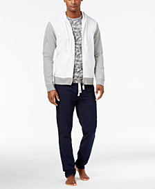 Bar III Men's Cotton Loungewear Shirts & Pants, Created for Macy's