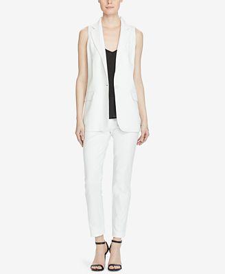 Lauren Ralph Lauren Stretch Crepe Vest