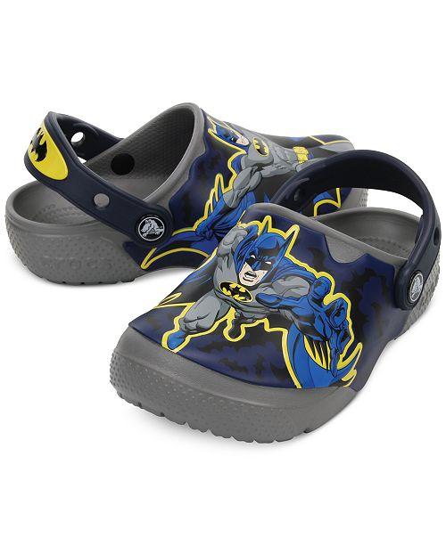 9fb4b8bb00dc7b ... Crocs Fun Lab Batman Clogs