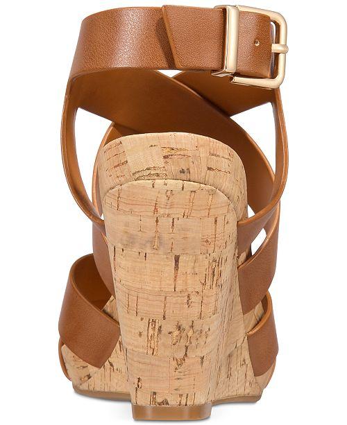 230cee9a5816 ... INC International Concepts I.N.C. Women s Landor Strappy Wedge Sandals