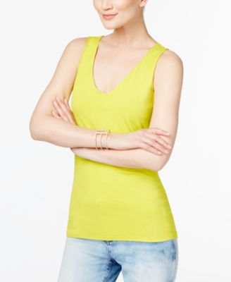 Image of INC International Concepts V-Neck Tank Top, Only at Macy's