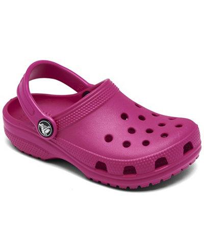 Crocs Classic K Clogs, Baby Girls, Toddler Girls & Little Girls