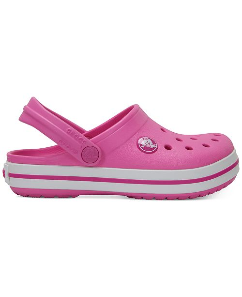 reputable site 80225 7c6a2 Crocs Crocband Clogs, Baby Girls, Toddler Girls & Little ...