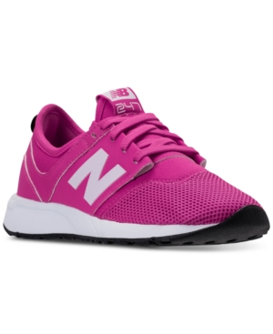 New Balance Girls 247 Casual Sneakers from Finish Line