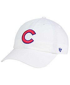 '47 Brand Chicago Cubs White CLEAN UP Cap