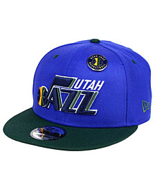 New Era Utah Jazz Pintastic 9FIFTY Snapback Cap