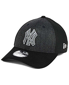 New Era New York Yankees Black Heathered 39THIRTY Cap