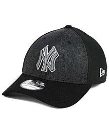 New Era New York Yankees Black Heathered 39THIRTY Cap