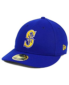 Seattle Mariners Low Profile AC Performance 59FIFTY Cap