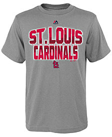 Majestic St. Louis Cardinals Spark T-Shirt, Big Boys (8-20)