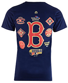 Majestic Men's Boston Red Sox Championship Run T-Shirt