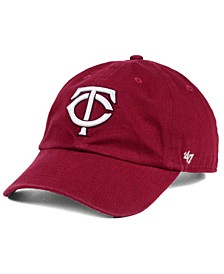 Minnesota Twins Cardinal and White Clean Up Cap