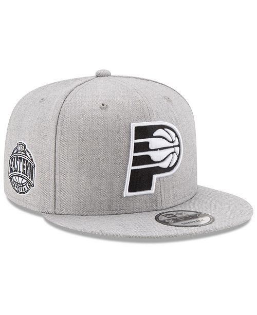 quality design 0fc56 297d5 ... New Era Boys  Indiana Pacers The Heather 9FIFTY Snapback ...
