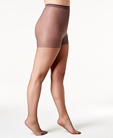 Plus Size Sheer Absolutely Ultra Sheer with Control Top Hosiery 00P30