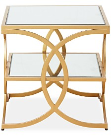 Helena End Table, Quick Ship