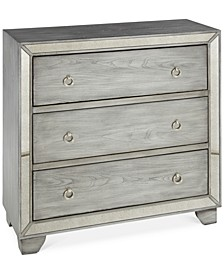Mykel 3 Drawer Mirrored Chest