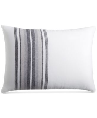CLOSEOUT!  Linen Plaid Standard Sham, Created for Macy's