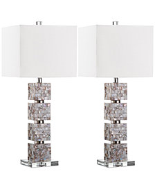 Safavieh Set of 2 Rafferty Table Lamps